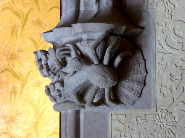 Spinne Deko Casa Amatller Barcelona