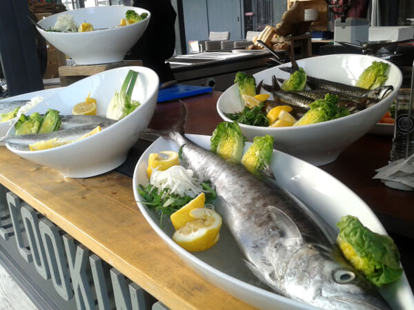 Strandplaats Nederzandt Restaurants Holland Fisch