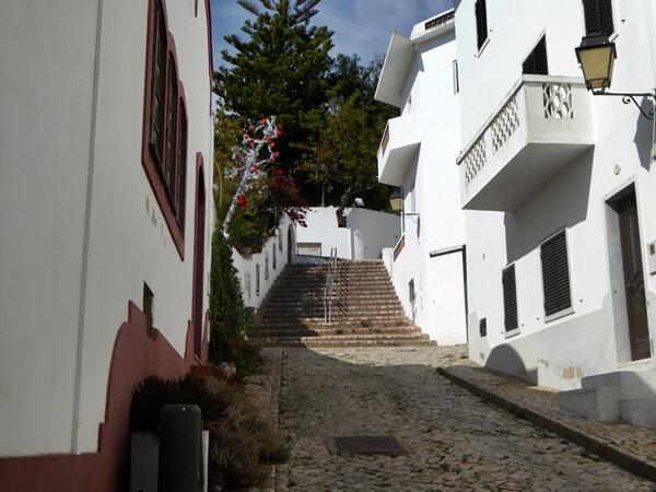 alte Dorf an der Algarve in den Bergen