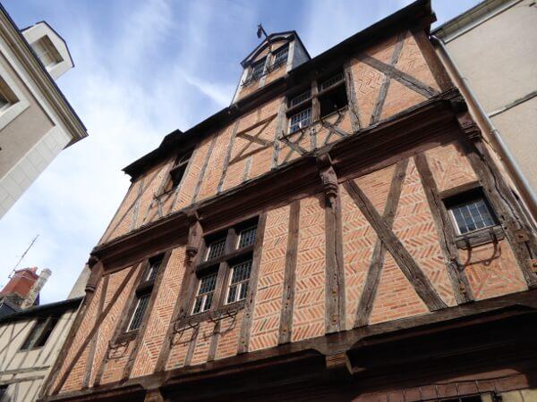 altstadt Angers Fachwerk