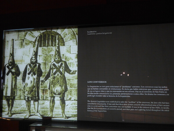 dokumentationszentrum inquisition Sevilla Castillo sant jorge