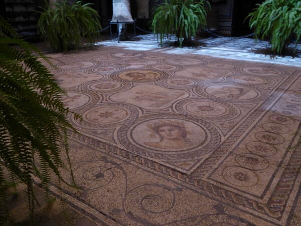 mosaik römisch Sevilla Palacio Lebrija