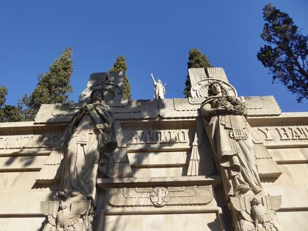BArcelona Batllo Friedhof Montjuïc