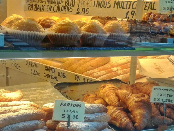 Barcelona Sants Bäckerei