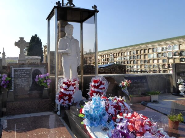 Ecke Friedhof Poblenou Barcelona