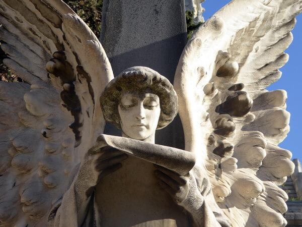 Engel Friedhof Montjuïc Barcelona Friedhofskunst