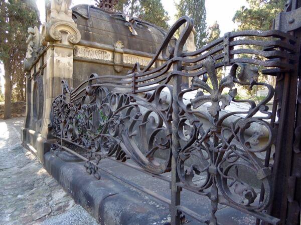 Friedhof Montjuic Doctor Robert Barcelona