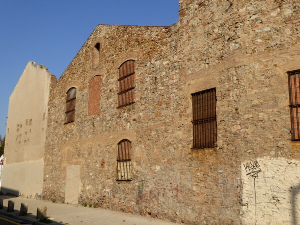 alte Fabrikgebäude Poblenou Barcelona
