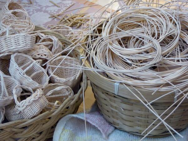 poble espanyol barcelona Handwerker Korbflechter