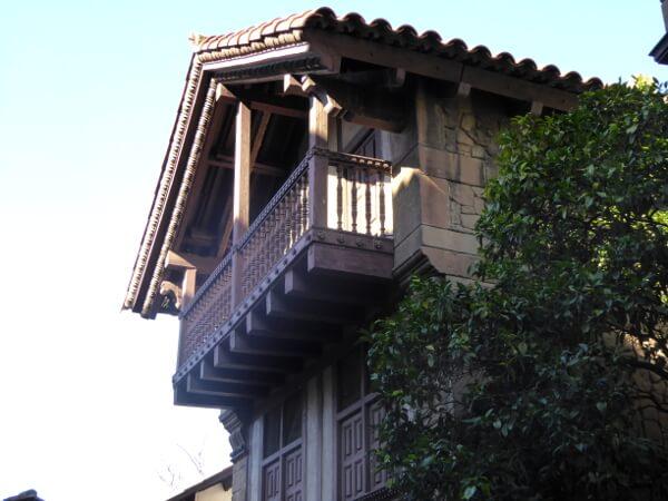 poble espanyol barcelona baskische Häuser