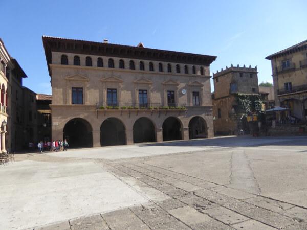 rathaus Poble espanyol Montjuic