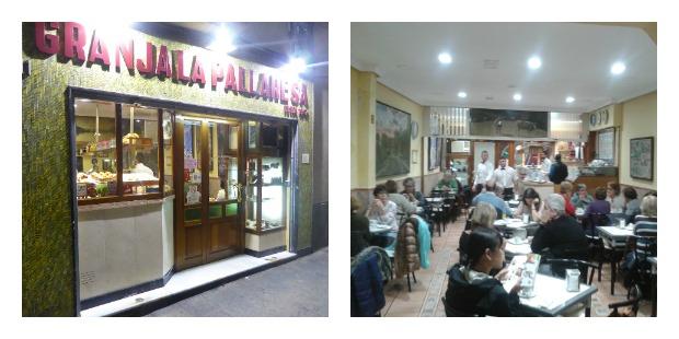 Granja Pallaresa Barcelona Schokolade und churros