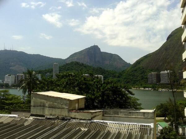 Ipanema blick auf Corcovado