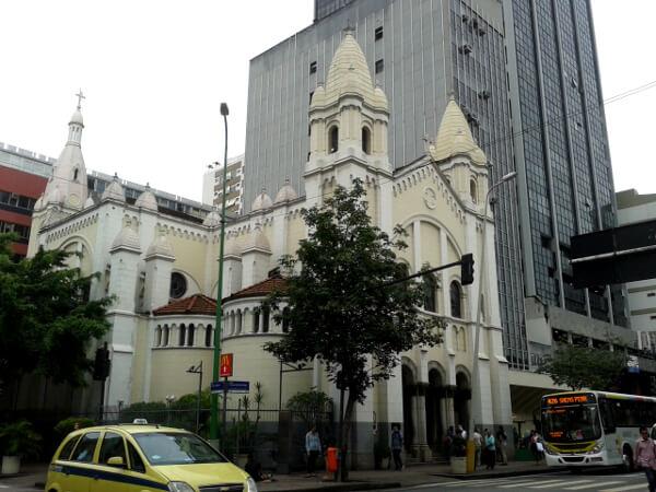 Kirche in Ipanema rio de janeiro
