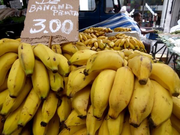 Markt Bananen Ipanema