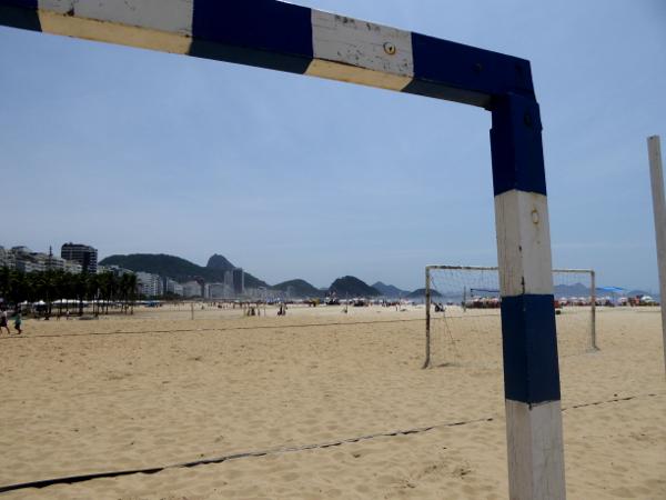 Praia Copacabana Strand Rio de Janeiro