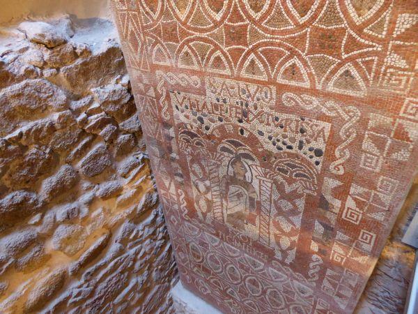 Tossa de Mar Museum Original Mosaik römisch