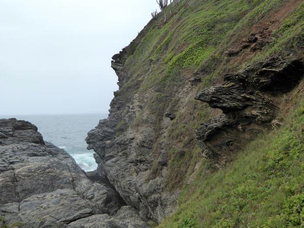 geologie zum anfassen Ponta lagoinha Buzios brasilien