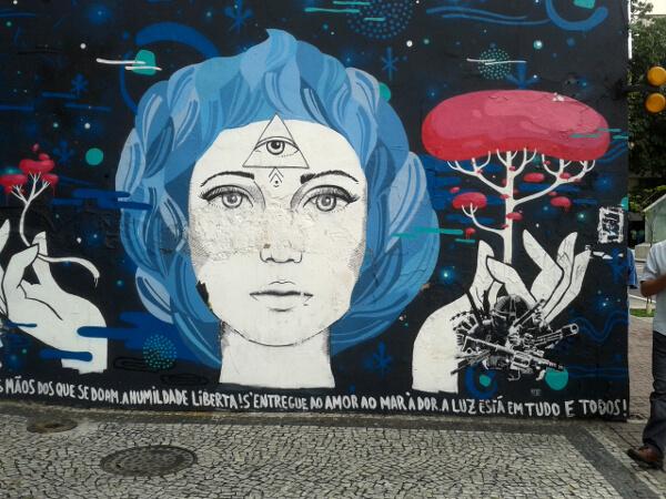 street art Ipanema rio de janeiro