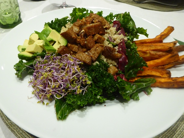 vegan essen in Barcelona bei Cristina