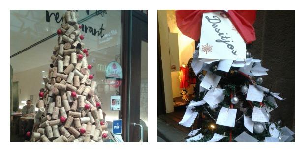 weihnachtsbäume Barcelona