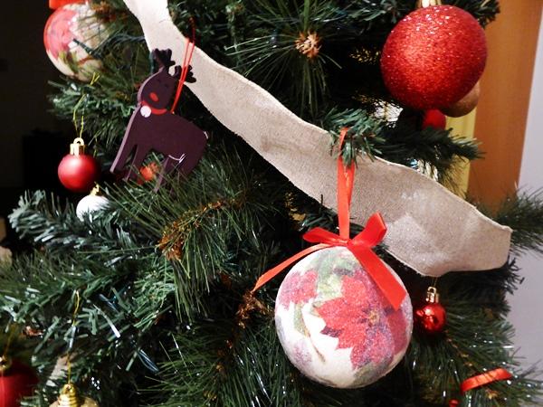 weihnachtsbaum vegan essen in Barcelona