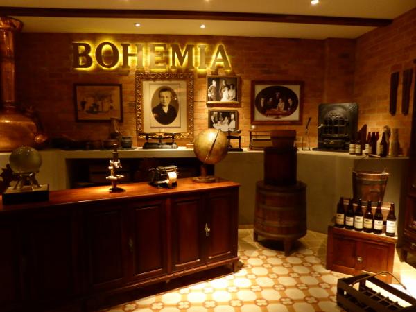 Bohemia Petropolis Bier Brauerei Museum