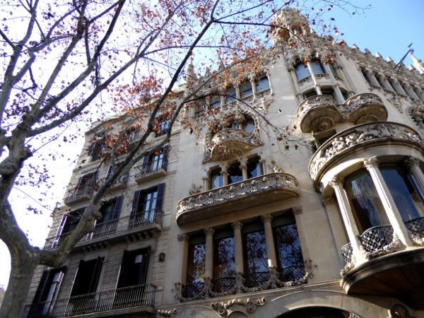 Casa Lleó Morera Barcelona Modernisme Manzana De la Discordia