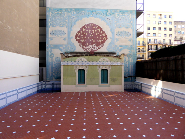 Casa Lleo Morera Barcelona Terrasse