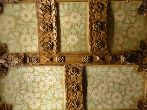Casa Lleo Morera Barcelona privatraeume gips statt Holz