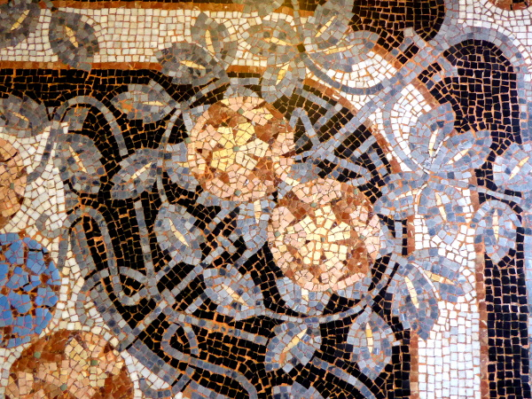 Casa lleo Morera Barcelona fussboden Mosaik
