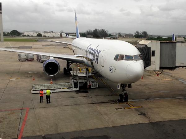 Condor in Rio Airport