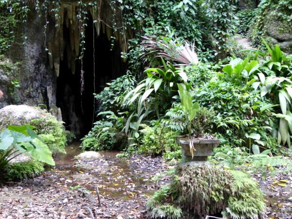 Eingang Grotte Parque Lage Rio de Janeiro