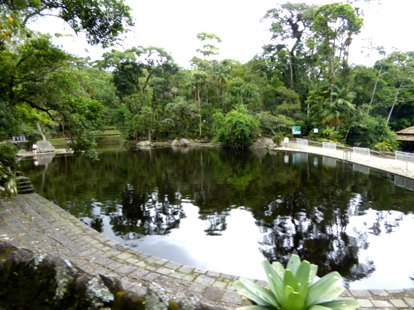 Eingangsbereich parque serra dos Orgaos Teresopolis Brasilien