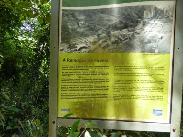 FAvela Historia Parque Da Catacumba Rio