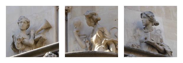 Fassade Casa Lleo Morera Figuren