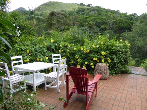 Garten der Pousada da Alcobaça