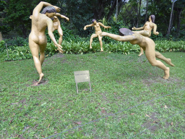 Jardim Botânico Kunst Eingang