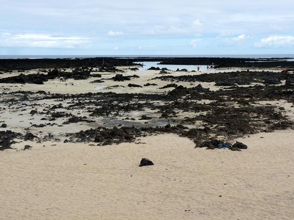 Lanzarote weisser Sand