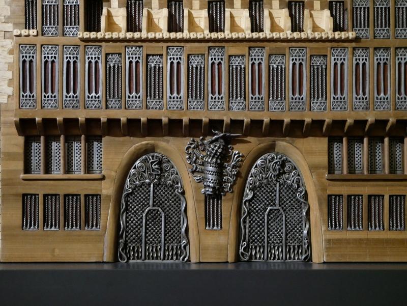 palau güell barcelona modell