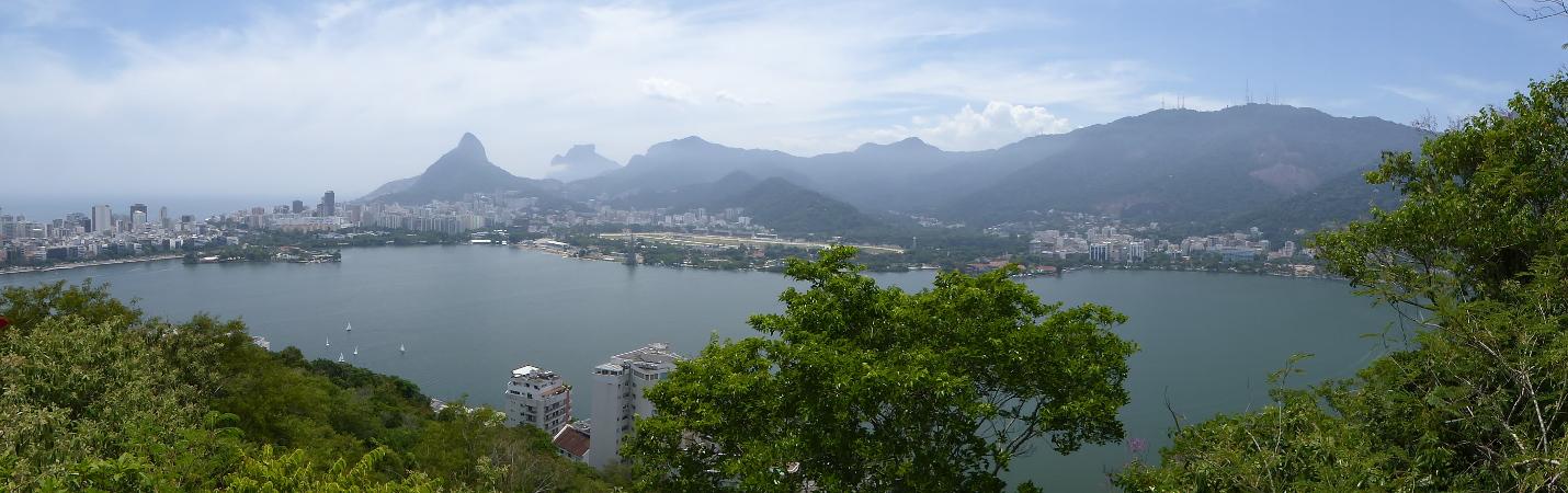 Parque Da Catacumba beste Aussicht auf Rio de Janeiro