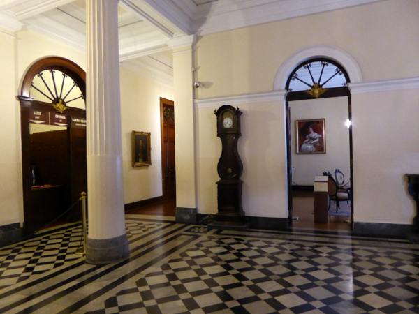 Petropolis Brasilien Museu Imperial Dom Pedro Uhr