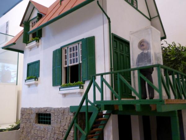 Santos Dumont Museum Haus Modell
