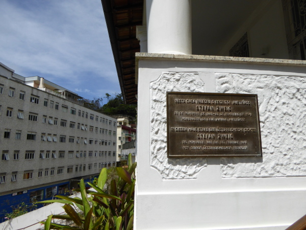 Tafel Casa Museum Stefan Zweig Petropolis