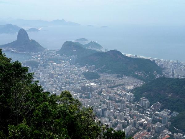 cristo Redentor Corcovado Aussicht auf Rio de Janeiro Zuckerhut