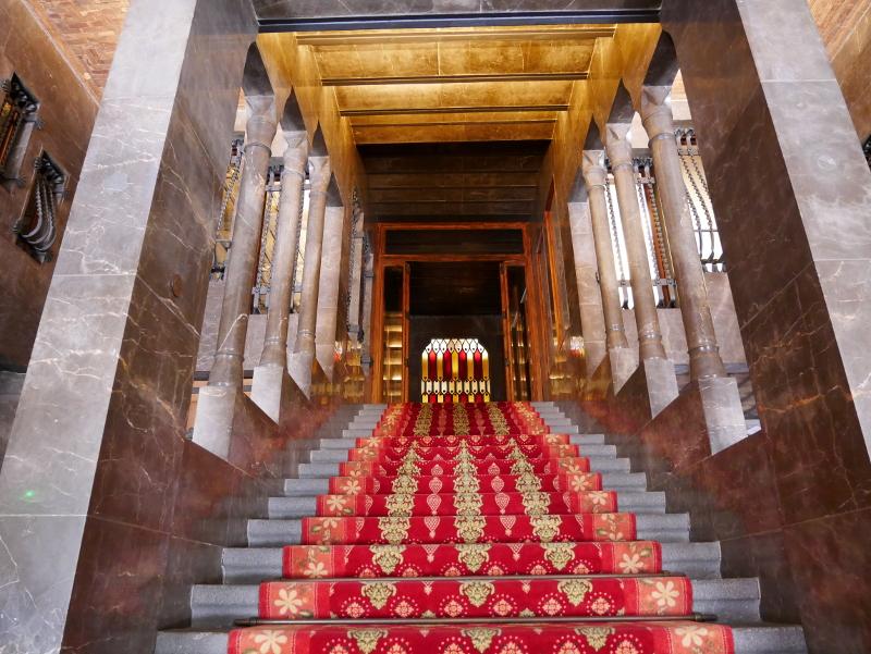 palau güell barcelona treppe