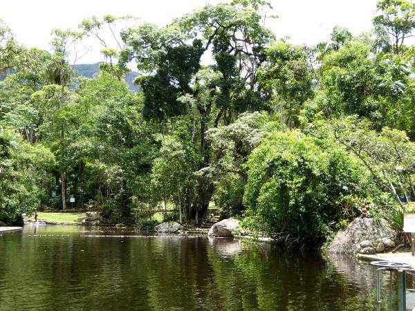 teresopolis parque serra dos orgaos eingang Teich