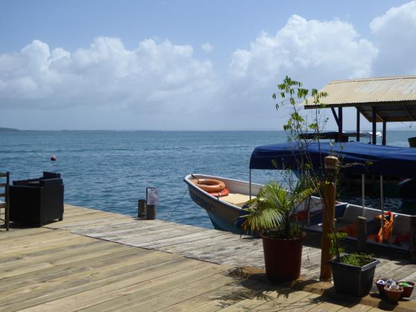 Abschied von Bastimentos Sonne in Bocas
