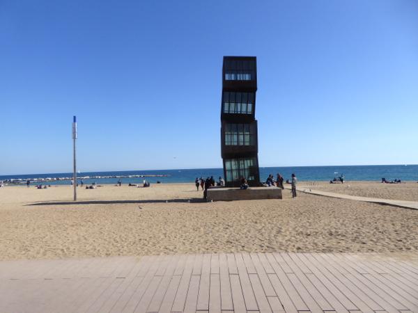 Barceloneta Strand Barcelona Wochenende