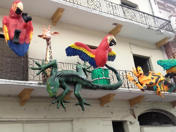Panama City Altstadt balkon
